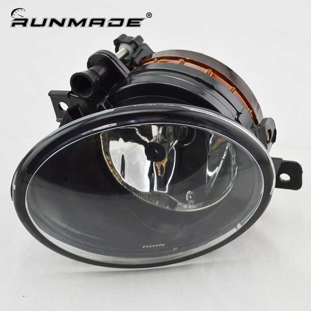 runmade For 2010+ VW Transporter 5 Before Facelift T5 T6 9006 55W Fog Light Lamp Clear Lens Right Side 7E0 941 700A runmade 1pair fog lights for 2006 2010 vw passat b6 3c clear lens front fog lamp driving lamp left