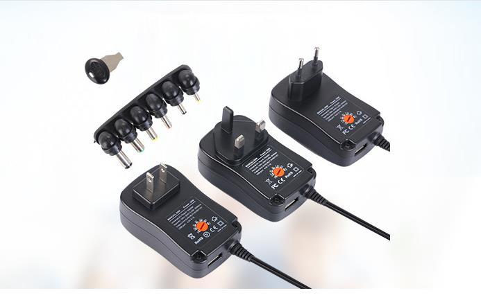 Multifunktionale Schaltnetzteil 30 watt Einstellbare Spannung Adapter Lade Power Adapter