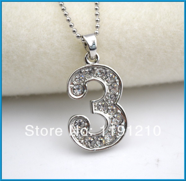 Number 3 pendant vintage jewelry necklaceantique silver plated50 number 3 pendant vintage jewelry necklaceantique silver plated50 pieces a lot mozeypictures Images