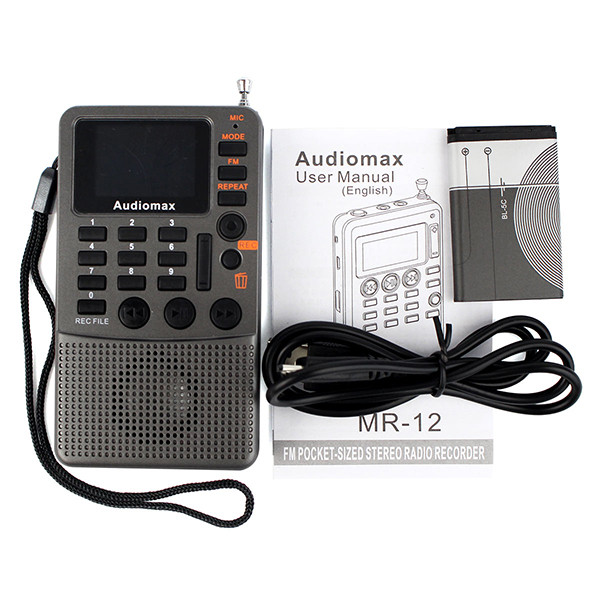 Hot Sale Handheld FM Stereo Radio Receiver (12)