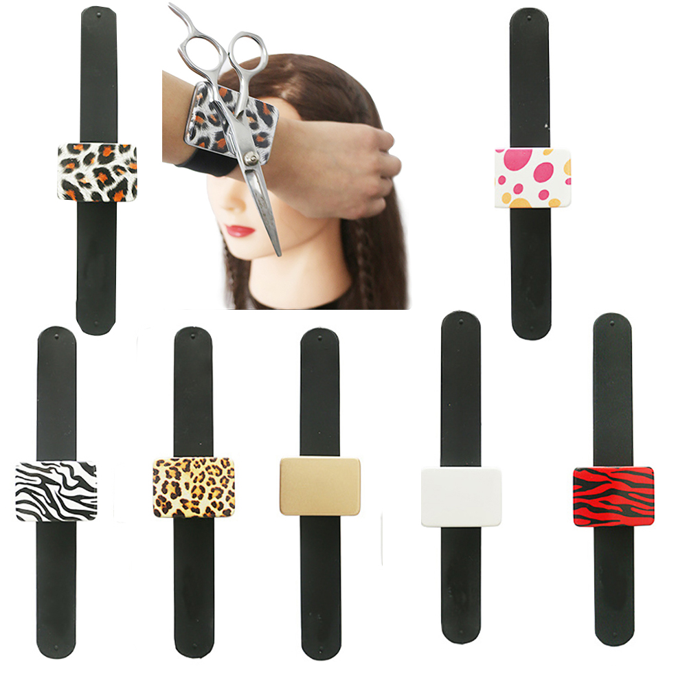 Magnetic Hair Pin Haircut Wrist Band Belt Hair Clips Holder Multifunctional For Makeup Styling Accessory Random Color