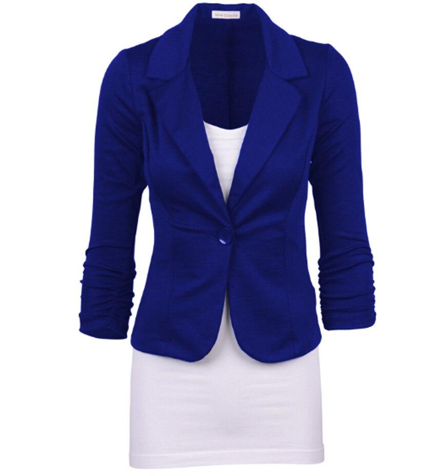 Jaqueta Feminina Vadim Feminino Manga Longa Flying Roc 2019 Women Feminin Girls Cotton Casual Slim Office Lady Jacket Suit Tops