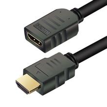 HDMI 연장 케이블 남성 여성 1M/2M/3M/5M HDMI 4K 3D 1.4v HDMI 확장 케이블 HD TV LCD 노트북 PS3 프로젝터