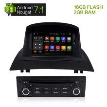 7 «Android 7.1 Стерео DVD мультимедиа для Renault Megane 2 Fluence 2002-2008 Авто Радио GPS навигации аудио-видео 2 ГБ Оперативная память