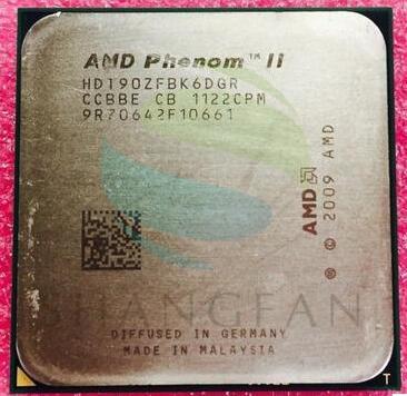 AMD Phenom X6 1090T X6-1090T 3.2GHz Six-Core CPU Processor  HDT90ZFBK6DGR 125W Socket AM3 938pin