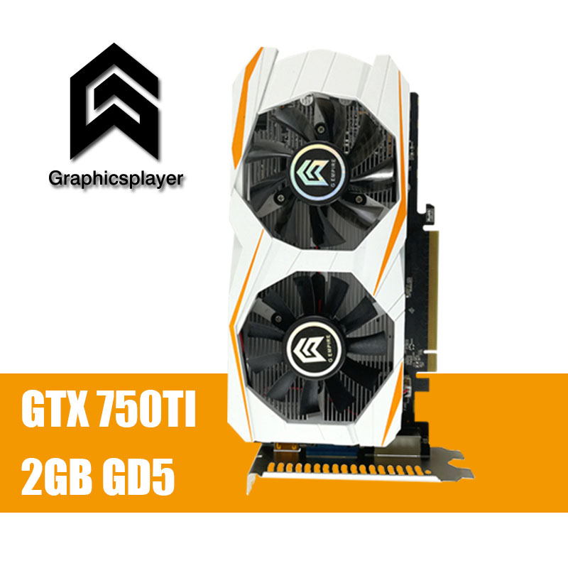 Original Graphics Card GTX 750TI 2048MB/2GB 128bit GDDR5 Placa de Video carte graphique Video Card for NVIDIA Geforce PC VGA best for msi gt60 gt70 gaming laptop computer graphics video card nvidia geforce gtx 680m gddr5 2gb replacement optical case