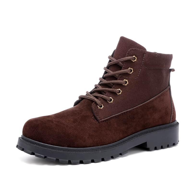 Fashion boys Martin Boots Autumn Winter student casual sneakers boys outdoor sport shoes British style snow boot fall trendboots in europe and america heavy bottomed martin boots british style high top shoes shoes boots sneakers