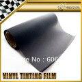 30x200 cm Matt Matte Black Smoke Tint Farol Taillight Vinyl Film Enrole Fit QUALQUER VEÍCULO
