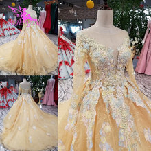AIJINGYU Gothic Gowns Lace Weeding Hangzhou Indonesia Dress