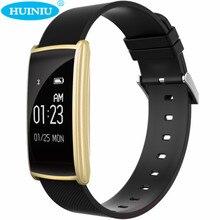Huiniu N108 Bluetooth Smart Band вызова сообщение напоминание шагомер сердечного ритма трекер Приборы для измерения артериального давления smartband для IOS Android