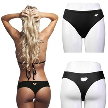 Hot Sale Sexy Womens Girls Bottom Bikini Heart Cut Swimwear Beachwear Briefs New Wholesale