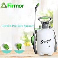FIRMOR 5L Portable Knapsack Garden Pump Pressure Sprayer Lawn and Garden Watering Spray Garden agriculture Irrigation Tool