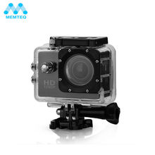 MEMTEQ FULL HD Outdoor Waterproof Action Camera Video Sports Camera DV Camcorder 1080P Wide Angle Rated For Camera Accessories