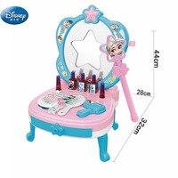 princess girls frozen elsa anna Dressing Tables makeup toys kids children's cosmetics Pretend Play girls toys