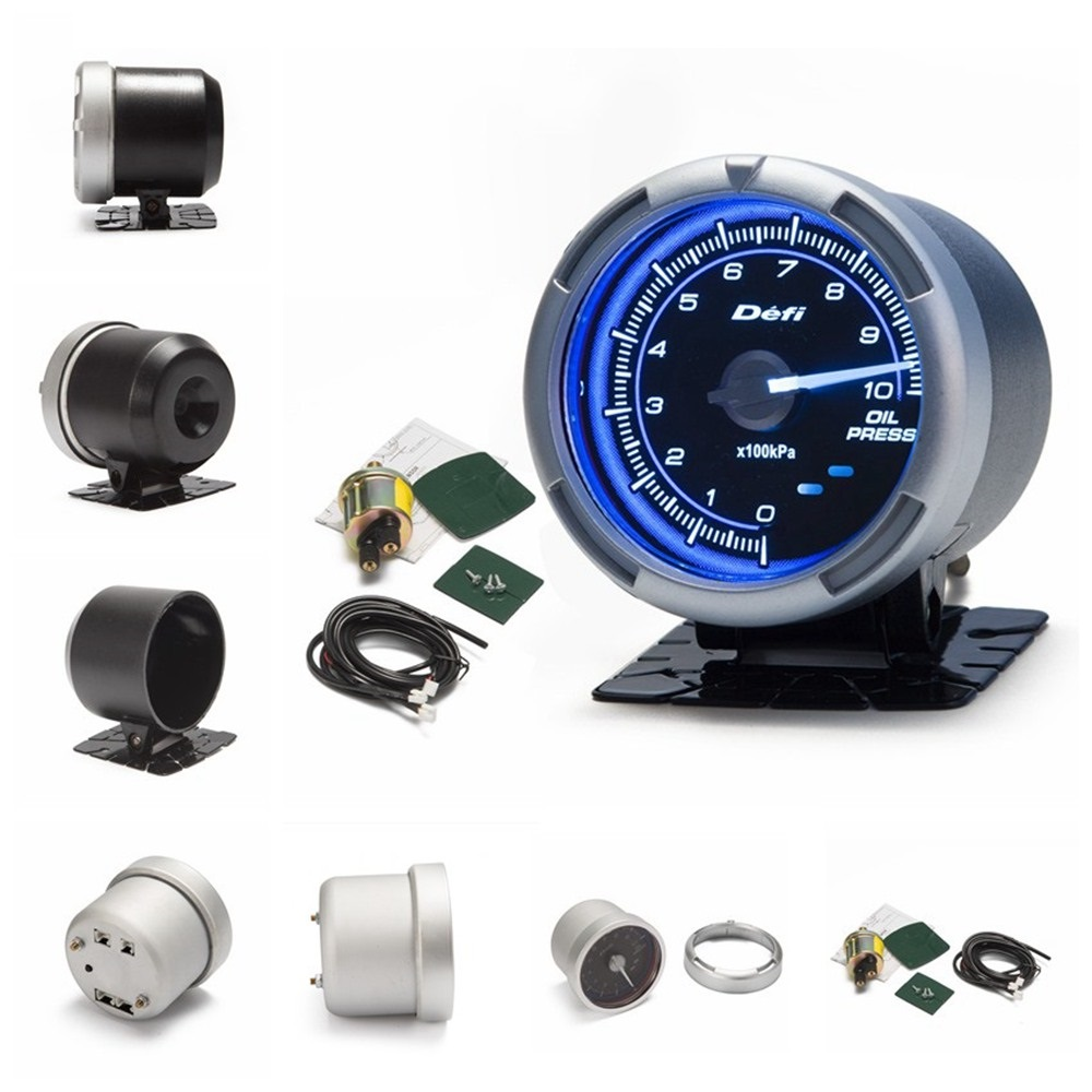 Df Link Meter Advance C2 Oil Pressure Gauge Blue For Bmw E30 325i Ford 8n No 318i M3 Ep Press In Gauges From Automobiles Motorcycles On