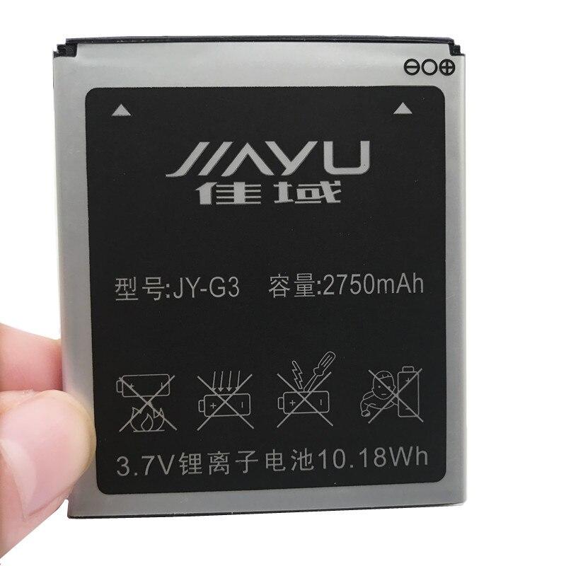 100% nova bateria de alta qualidade JY-G3 para jiayu g3 g3s g3c g3t 2750 mah baterias do telefone celular móvel
