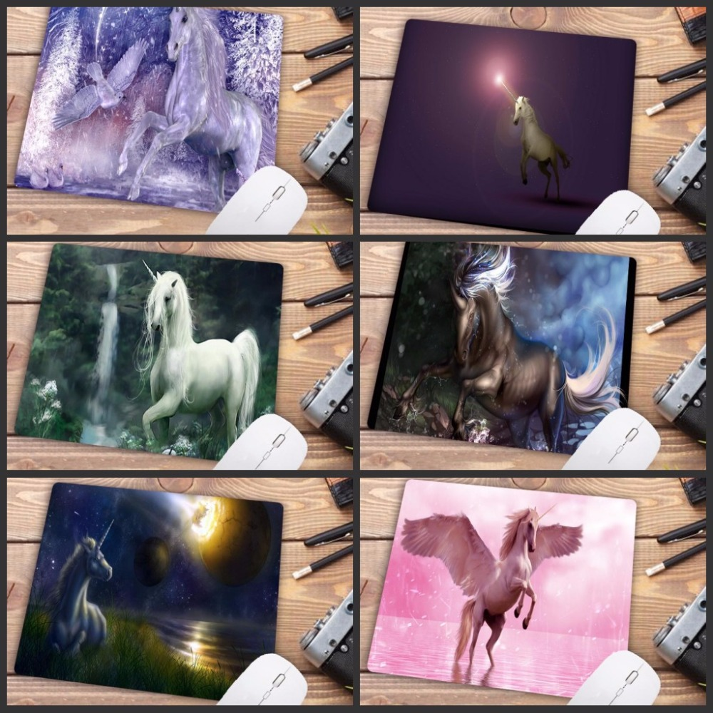 Horse On Hind Legs Fashion Desk Custom Gaming Mouse Pads For Size 18*22cm And 25*29cm Lasting Computers And Laptops Mouse Pad Computer Peripherals