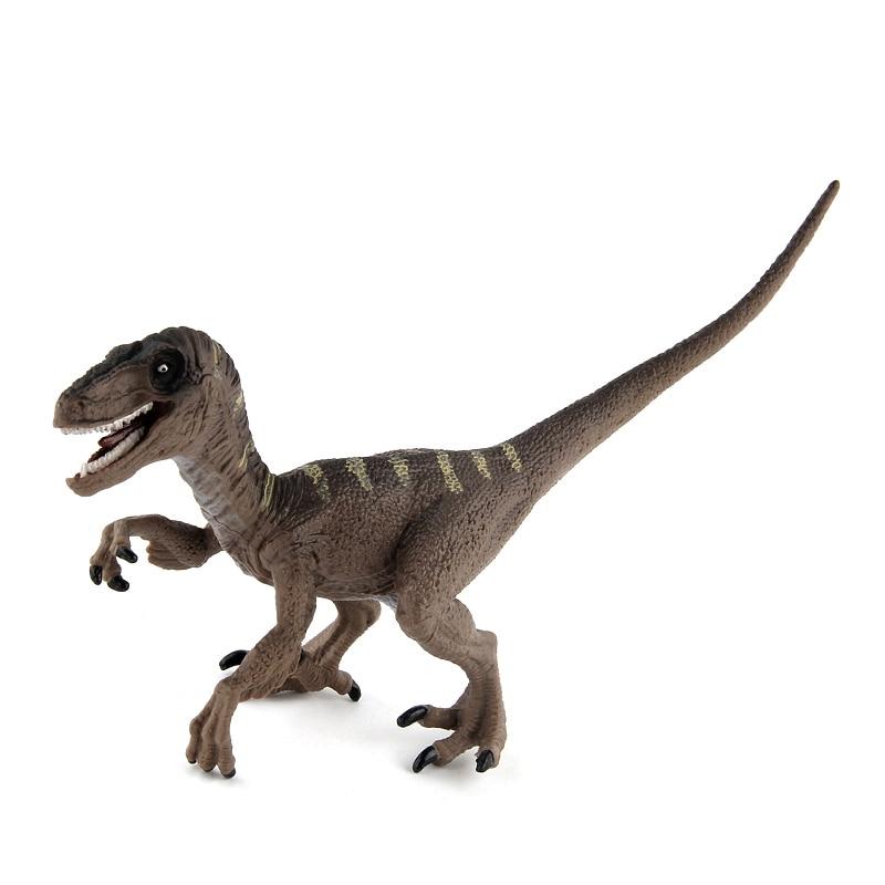 Wiben Jurassic Velociraptor Dinosaur Action Toy Figures Animal Model Collection Learning Educational Children Boy Gift #E 自宅 ワイン セラー