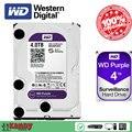 Western Digital WD Фиолетовый 4 ТБ hdd NVR система sata 3.5 дискотека duro interno внутренний жесткий диск жесткий диск disque мажор desktop server