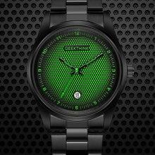 Relógios De Quartzo Dos Homens de luxo Da Marca Top designer Criativo Analógico Wrsit Assistir Banda de Aço Inoxidável Relógio Masculino Relogio masculino