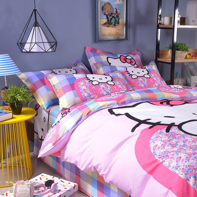UNIKIDS Cute cartoon duvet cover set bedding set for Kids boy or girls Twin size KT016