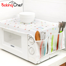 Microwave Oven Covers Kitchen Gadgets Home Storage Organization Bag Waterproof Easy To Clean Wholesale Bulk Accessories Supplies
