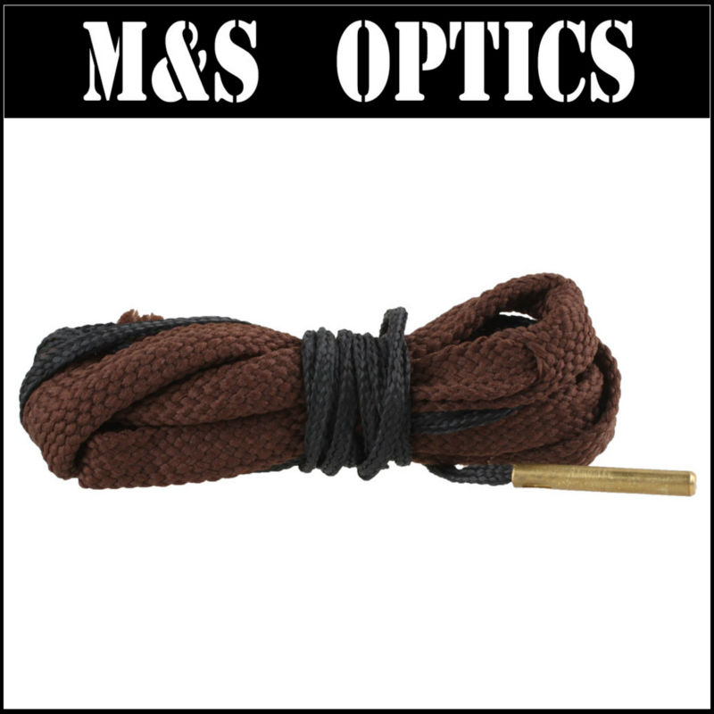 17CAL Gun Rope Brush in Brown Color Snake Rope Rifle/Pistol/Shotgun Hunting Air Gun Accessories Gauge Cleaner Rope Made In China