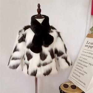 Image 5 - LILIGIRL Girls zimowa kurtka ze sztucznego futra dziecięcy ciepły płaszcz dla dziecka kolorowe znosić chłopcy wysokiej jakości kurtki futrzane topy ubrania
