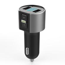 Multifunctional Car USB  Bluetooth FM Transmitter MP3 Player Wireless Radio Adapter Dual  Port Charger Cigarette Lighter Socket