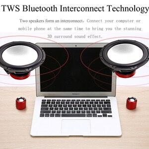 Image 2 - A8 tws Super Bass Portable musique sans fil petit haut parleur Microphone haut parleur Mobile lecteur de musique Boom box système de son avec rad Fm