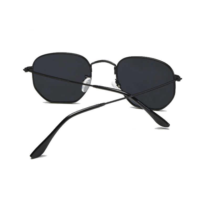 ff01538798 ... TSHING RAY Men Hexagonal Flat Lenses Aviation Polarized Sunglasses  Brand Designer New Retro Women Mirror Driving