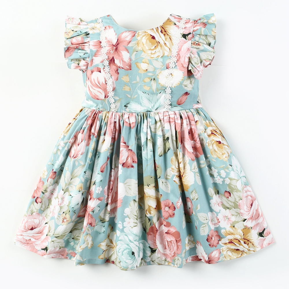 1c98eb75781a8 ④ New! Perfect quality latest girls dresses cotton and get free ...