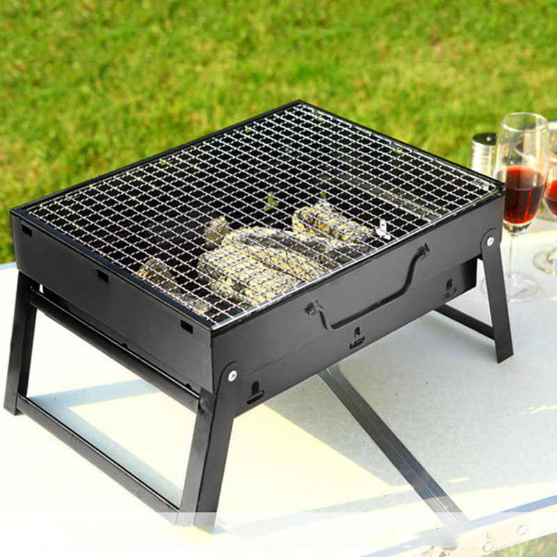 Outdoor Portable Bbq Grills Burner Oven For 3 5 Person Garden