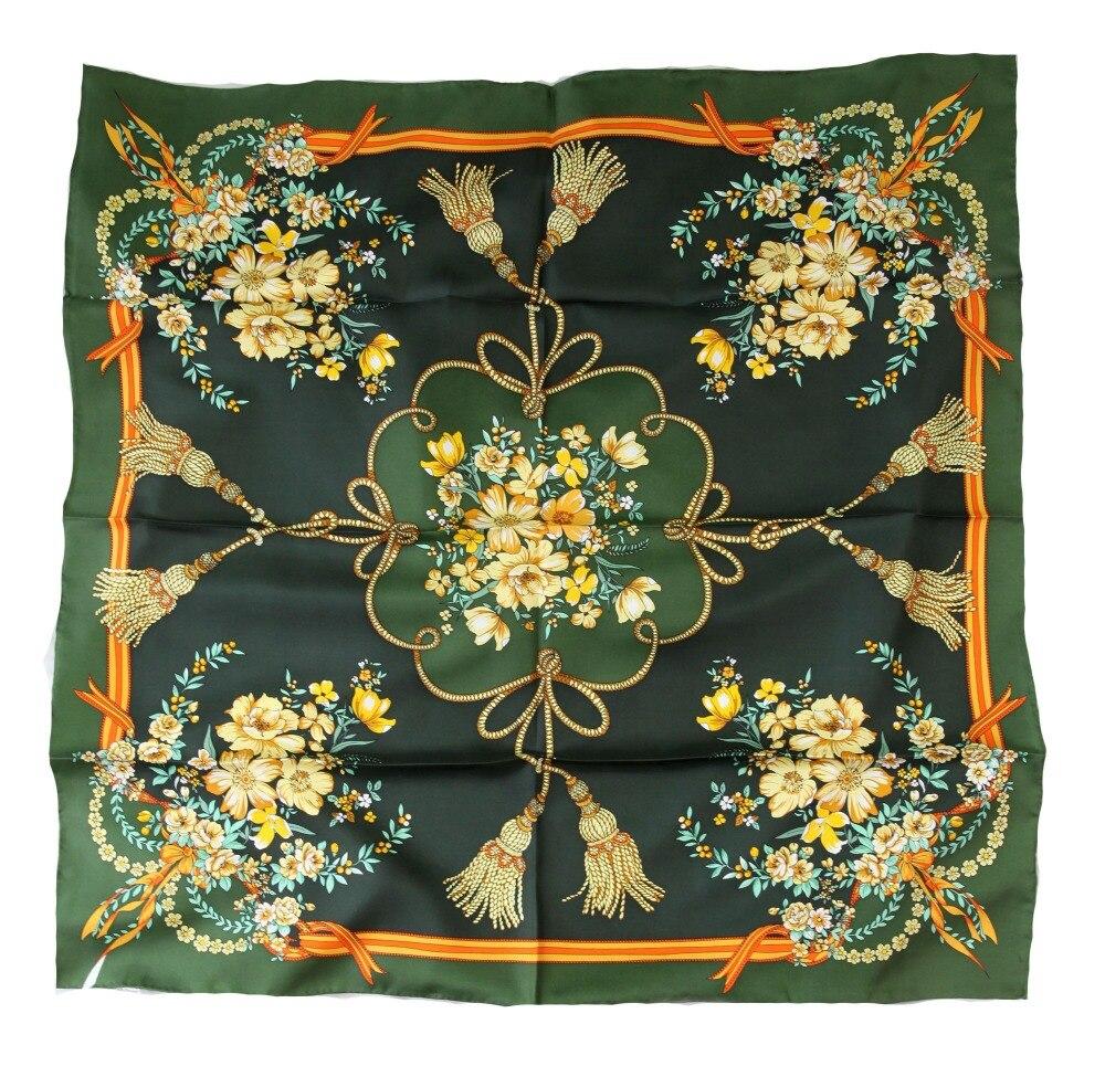ELEGANT HANDMADE BRAND 100%Twill Silk Scarf TWIC-290078