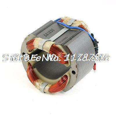 AC 220V Cutting Machine Part 50.7mm Dia Core Armature Stator for Makita LS1030 electric cutting machine armature part motor rotor ac 220v for makita 3612br