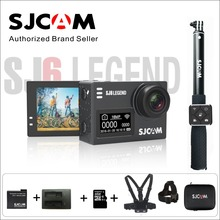 Original SJCAM SJ6 LEGEND Notavek 96660 Gyro Helmet Sports DV Waterproof Action Camera 2.0″ Touch Dual Screen Remote Sports DV