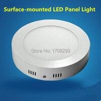 Toptan 10 ADET 6 W 12 w 18 W Dim yuvarlak led tavan paneli SMD2835, Soğuk beyaz/sıcak beyaz, 2 yıl garanti