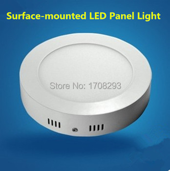 wholesale 10PCS 6W 12w 18W Dimmable round led ceiling panel SMD2835,Cool white/warm white,2 years warranty