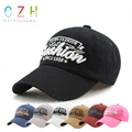 CaiZhongHai / SK12 Adjustable Baseball Caps Cotton Young Fashion Letter Embroided Black Snapback Caps Men Women Snapback Hip hop
