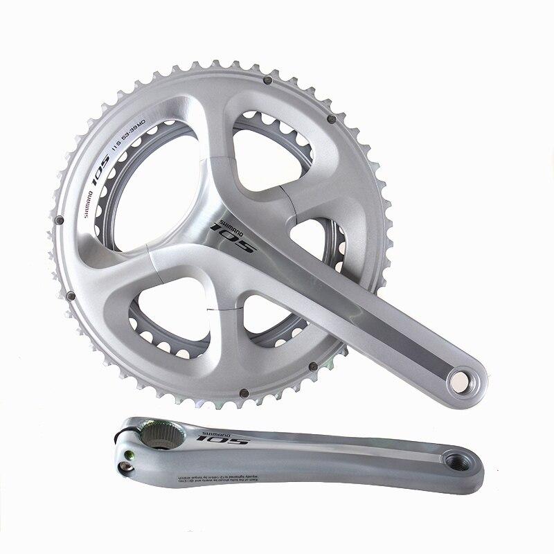 SHIMANO FC 5800 105 11S 22S 53-39T 50-34T 172.5mm Chain Wheel Crankset Bicycle Components Road Bike Chain Wheel Parts