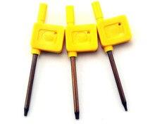 Plum Screwdriver T6 T8 T10 DIY Knife Material Making Folding Screw Removal Tools