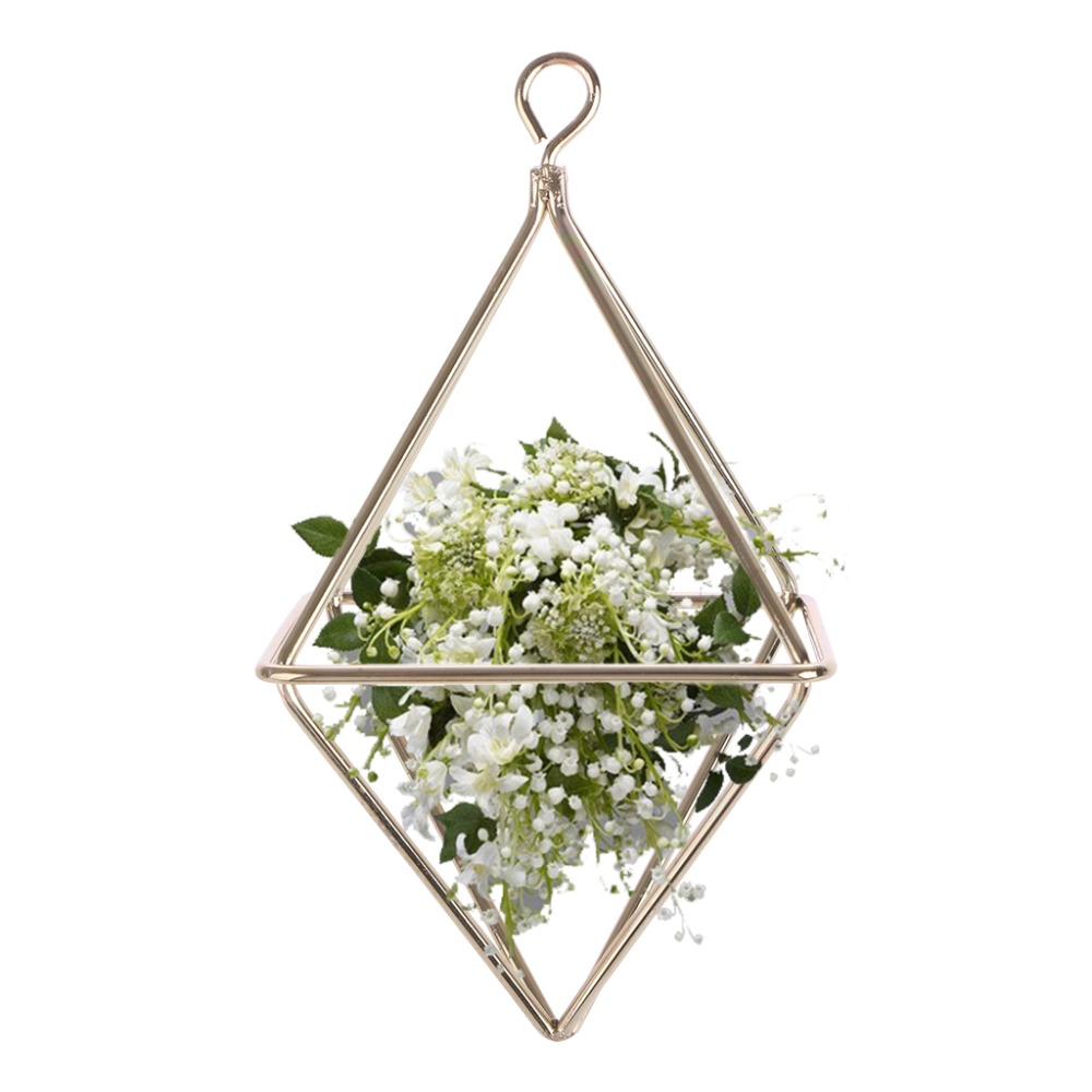 Wall Hanging Air Plants Rack, Diamond Shape | Wall Hanging Planters