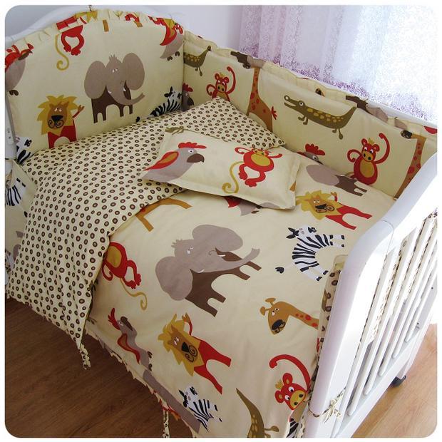 2016! 2PCS Unisex Crib Bed Set Newborn Baby Bedding Set For Boys And Girls Cama Bebe