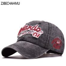ZJBECHAHMU Hats New Fahion Spring Solid Cotton Letter Adjustable Baseball Caps Snapback Hat For Men Women Summer Hip Hop Cap