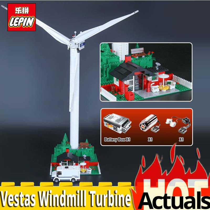 Lepin 37001A Creative Series The Vestas Windmill Turbine Model set Educational Building Blocks Bricks Toys Gifts legoinglys 4999