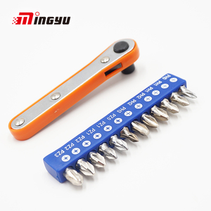 11pcs Ratchet Screwdriver Set Hex Phillips Slotted Screwdrivers Bits Forward And Reverse Multifunction Screw Driver Hand Tool