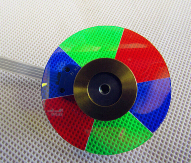 Free Shipping !  NEW original Color Wheel Optoma HD20 or HD200X PROJECTOR COLOR WHEEL  with Three Months Warranty