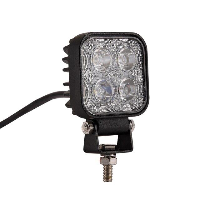 Auto Motorfiets LED Spot Werk 12 W LED Licht Auto Wit Fog Dag Licht Auto Motorbike Worklight Offroad Werk Lamp