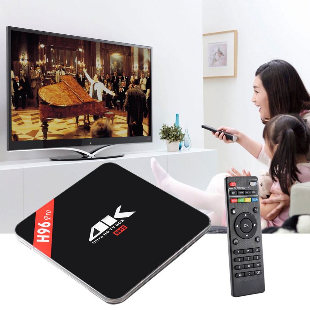 H96 Pro High Quality 3G+16G Amlogic S912 Octa Core ARM Cortex-A53 CPU Bluetooth 4.0 Wireless Home TV Box Tops For Android 6.0 x92 a912 ap6255 professional 2g 16g home tv box top s912 octa core cpu wireless entertainment player us plug type