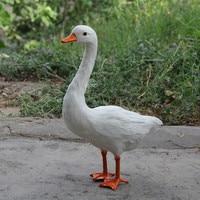 Zilin Manufacturer / simulation goose decor, lovely and vivid, ideal as children gift or garden decor 24*12*39 cm